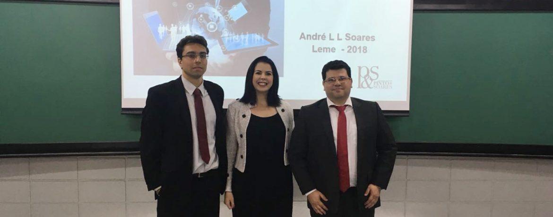 André Soares ministra palestra em Centro Universitário de São Paulo