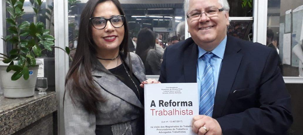 Lançamento livro Reforma Trabalhista