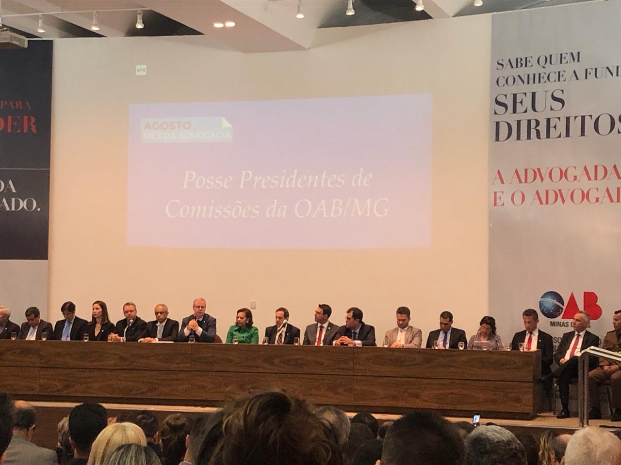 Posse presidência da Comissão de Direito Securitária e Previdência Complementar da OAB/MG